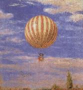 Merse, Pal Szinyei The Balloon oil painting artist